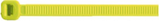 Cable Ties 100mm x 2.5mm YELLOW