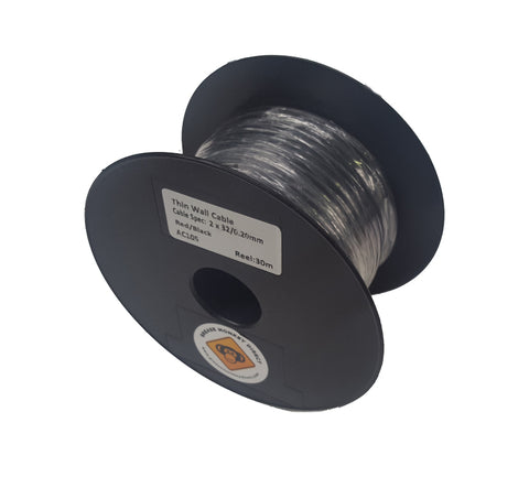 twin core cable thin wall 30m