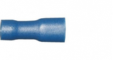 Blue Female Spade 4.8mm Fully Insulated Electrical Connectors | Qty: 100