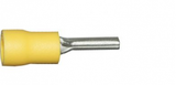 Yellow Pin 14.0mm Crimp Terminals | Qty: 100