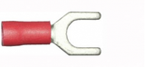 5.3mm red fork electrical connector