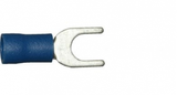 4.3mm blue fork electrical terminal