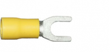 5.3mm yellow fork electrical terminal