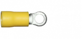 4.3mm yellow ring terminal