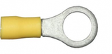 10.5mm yellow electrical ring terminal