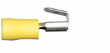 Yellow Piggy-Back 6.3mm Electrical Connectors | Qty: 100