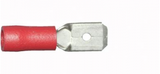 Red Tab (male) 6.3mm Crimps Terminals | Qty: 100