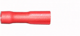 Red Female Spade 2.8mm Fully Insulated Electrical Connectors | Qty: 100