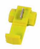 Yellow Low Voltage Connector (crimps terminals)
