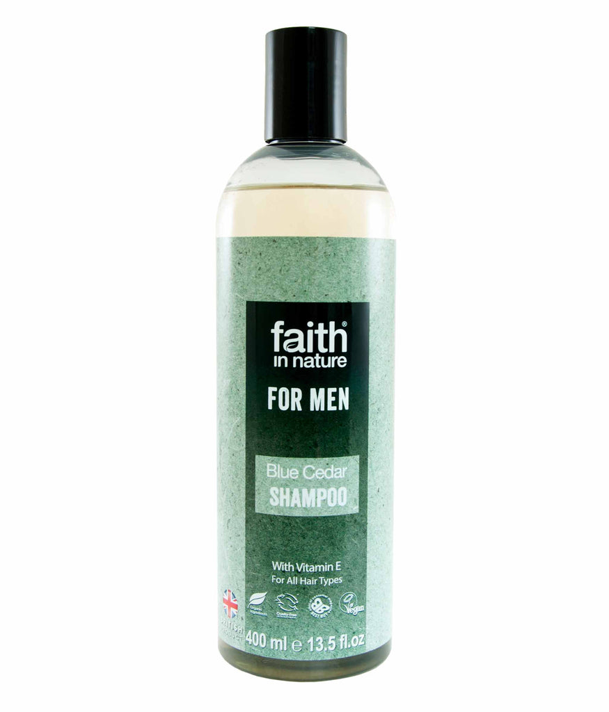 Faith In Nature - Blue Cedar Shampoo for Men (400 ml)