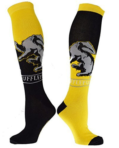 Harry Potter Hufflepuff House Knee High Socks - Coast City Styles