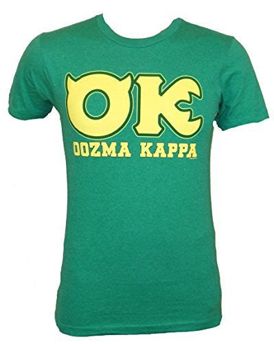 Disney Monsters University OK Oozma Kappa Member Green T-shirt - Coast City Styles