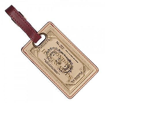 Harry Potter Platform 9 3/4 Ticket London To Hogwarts Luggage Bag Tag