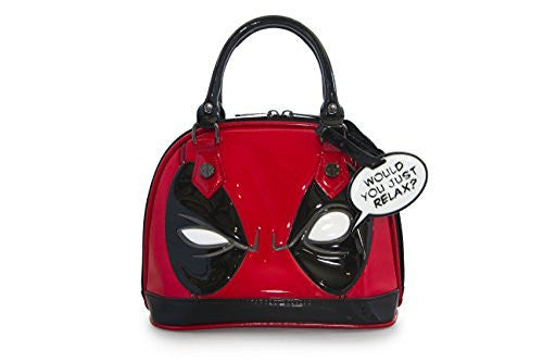 Loungefly Deadpool Eye Mini Dome Top Handle Bag - Coast City Styles