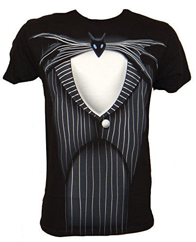 Disney Nightmare Before Christmas Jack Skellington Suit T-shirt - Coast City Styles