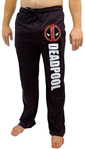 Marvel Deadpool Logo Men's Loungewear Pants