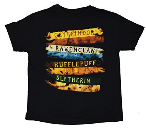 Harry Potter Gryffindor School Stripes Boys Kids T-shirt