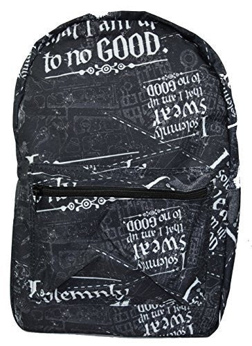 Harry Potter Solemnly Swear Marauders Map All Over Print Backpack