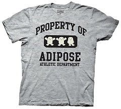 Doctor Who Property of Adipose Athletic Department T-shirt