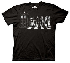 Doctor Who Villains Street Crossing T-shirt