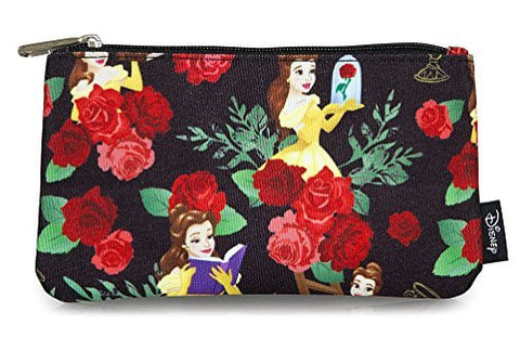 Beauty and the Beast Belle Roses All Over Print Pencil Case