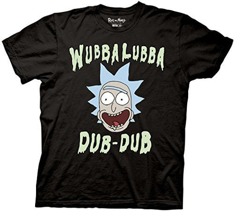 Rick and Morty Wubbalubba Dub-Dub T-shirt - Coast City Styles