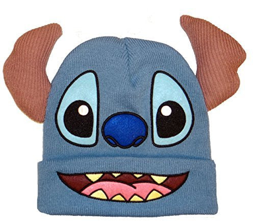 Concept One Stitch Big Facee Cuff Beanie 3D Ears Felt, Emboirdery - Coast City Styles
