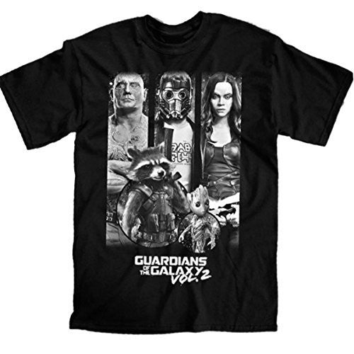 Marvel Guardians Of The Galaxy Panel Circles T-shirt