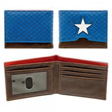 Captain America Soft Faux Leather Bi-fold Wallet