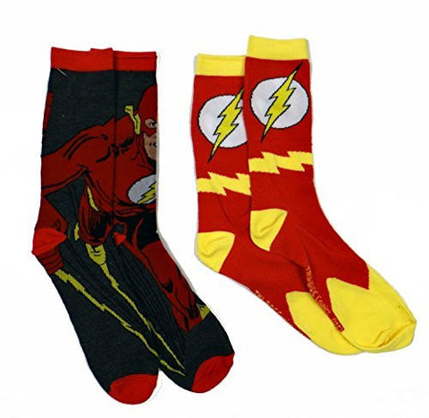 The Flash Men's Casual Crew Sock Set Pack of 2 - Coast City Styles