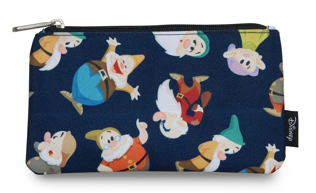 8a0f132b8cdd0b Loungefly Disney Snow White And The Seven Dwarves Nylon Pencil Case Co –  Coast City Styles