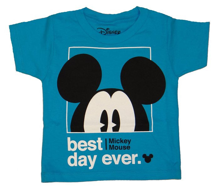 be463db14f1 Disney Mickey Mouse Best Day Ever Boys Youth T-shirt – Coast City Styles