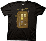 Doctor Who Steampunk Tardis T-shirt