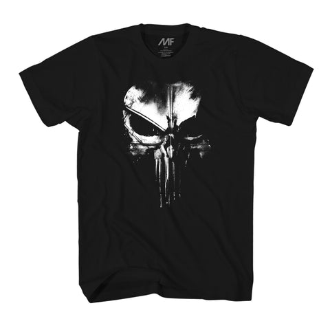 Marvel The Punisher Dirty Skull T-shirt