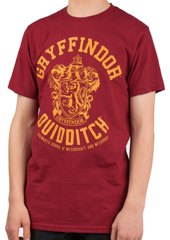 Harry Potter Gryffindor Quidditch Adult T-Shirt