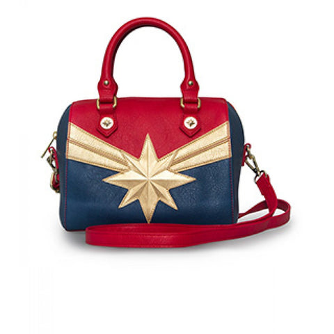 Loungefly Marvel Captain Marvel Crossbody Purse Shoulder Bag
