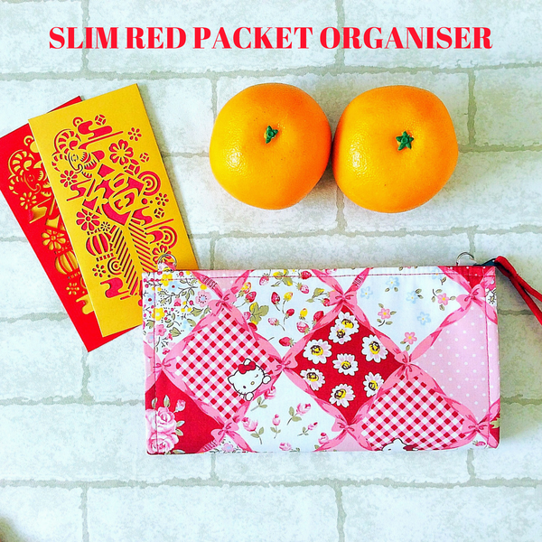 SLIM RED PACKET ORGANISERS | HOLDS 60 - 70 RED PACKETS