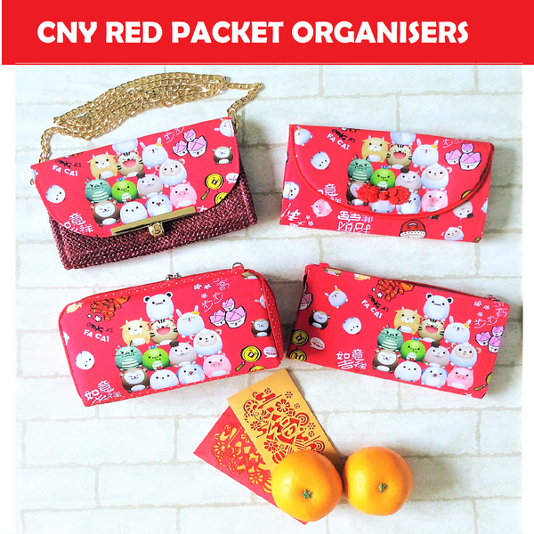 CHINESE NEW YEAR GIFTS | RED PACKET ORGANIZER