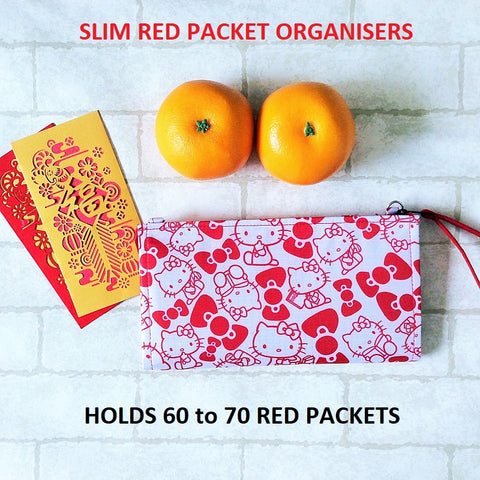 SLIM RED PACKET ORGANISER