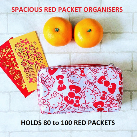 SPACIOUS RED PACKET ORGANISER