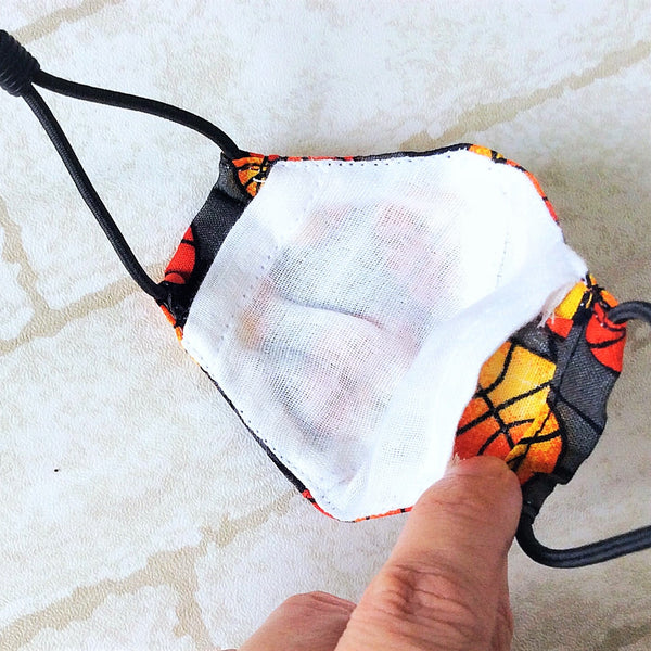 7YO to ADULT SIZE : HANDMADE MASK READY STOCK | FREE 10 PIECES OF FILTER | Design 2B48