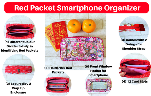 11th PREORDER for SMARTPHONE SPACIOUS Ang Pow Organizer_Ready in Mar/Apr 2019