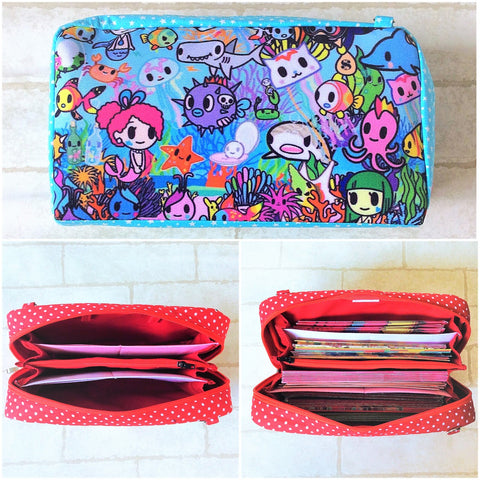 SPACIOUS Hong Bao Organizer | Ang Pao Wallet | Spacious Organizer 100 Red Packets | Spacious TKDK Design 17B08