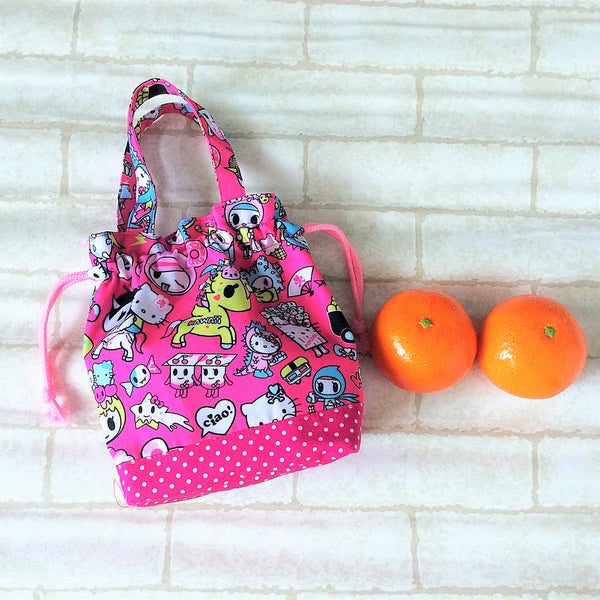 Mandarin Orange Carrier | Carrier for 4 Oranges | Chinese New Year Carrier | Orange Carrier TKDK Design 17B02