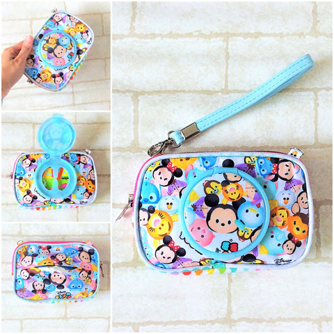 SLIM WET AND DRY Pocket Tissue Wallet Pouch | WET AND DRY Pocket Tissue Pouch | SLIM Pocket Wet and Dry Tsum Design 7B02