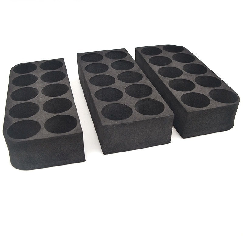 8 Hole Black Foam Insert for Essential Oil Bottles | 8 Holes Black Foam Insert for 15ml Bottles