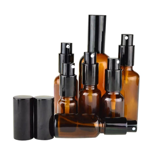 Amber Brown Spray Bottles