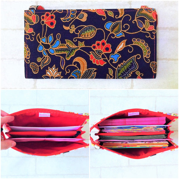 SLIM Red Packet Organizer | Ang Pow Organiser | Slim Organiser 70 Red Packets | Slim SIA Design 18B10