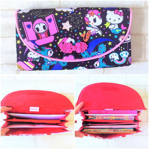 FLAP Ang Bao Organizer |  Pouch for Red Packets | Flap Organiser 50 Red Packets | Flap TKDK Design 17B12