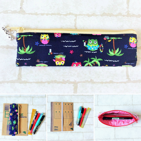 Pencil Pouch Book Band | Pencil Holder | Owl Design 6